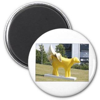 superpeeledbannana 2 inch round magnet