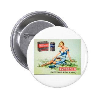 Superpila Batteries Pinback Buttons