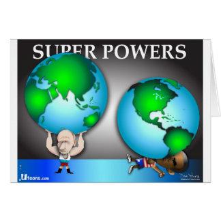 Superpoderes Tarjeta De Felicitación