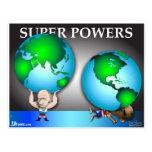 Superpoderes Tarjeta Postal