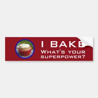 Superpotencia (magdalena) pegatina para auto