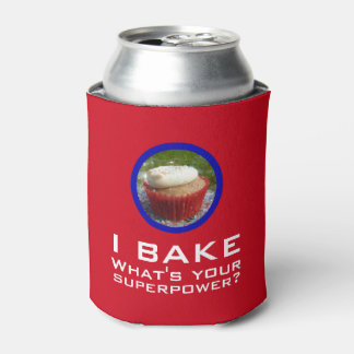 Superpower (Cupcake) Can Cooler