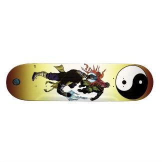 Superpowered Yin-Yang Skateboard