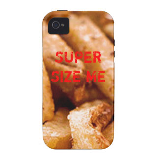 SUPERSIZE MY FRIES Case-Mate iPhone 4 COVERS