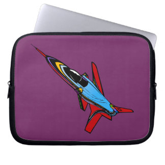 Supersonic Airforce Jet-Fighter Design for Pilots Computer Sleeve