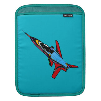 Supersonic Airforce Jet-Fighter Design for Pilots iPad Sleeve