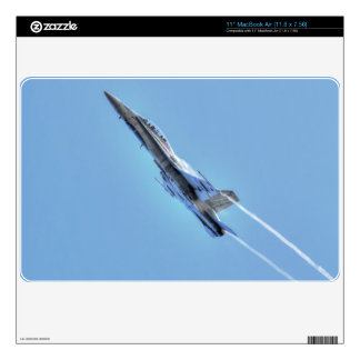 "Supersonic Airforce Jet-Fighter Designer Gift 11"" MacBook Air Skins"