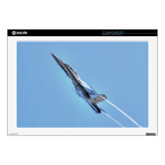 "Supersonic Airforce Jet-Fighter Designer Gift 17"" Laptop Skin"