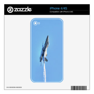 Supersonic Airforce Jet-Fighter Designer Gift iPhone 4S Skins