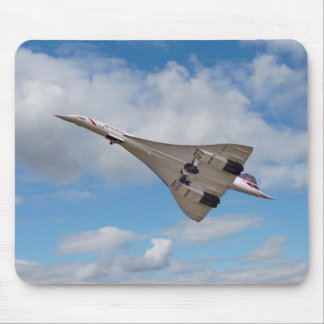 Supersonic Concorde G-BOAB Mouse Pad