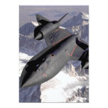Supersonic Fighter Jet 5x7 Paper Invitation Card