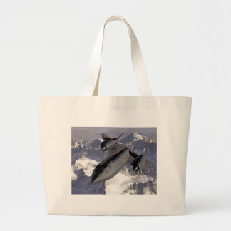 Supersonic Fighter Jet Tote Bag
