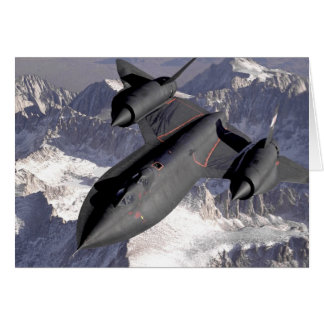 Supersonic Fighter Jet Card