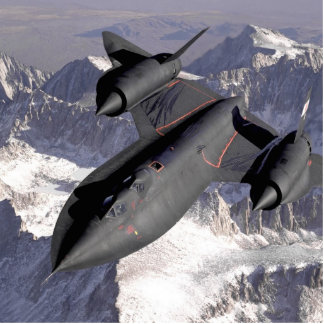 Supersonic Fighter Jet Cutout