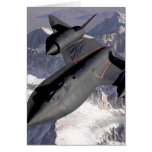 Supersonic Fighter Jet Greeting Card
