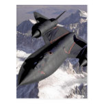 Supersonic Fighter Jet Postcard