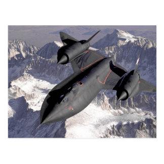 Supersonic Fighter Jet Postcard