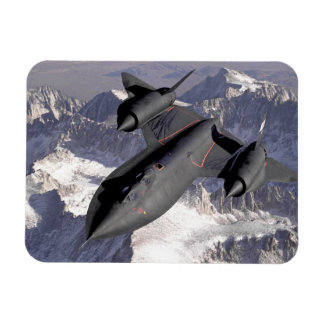 Supersonic Fighter Jet Rectangular Photo Magnet