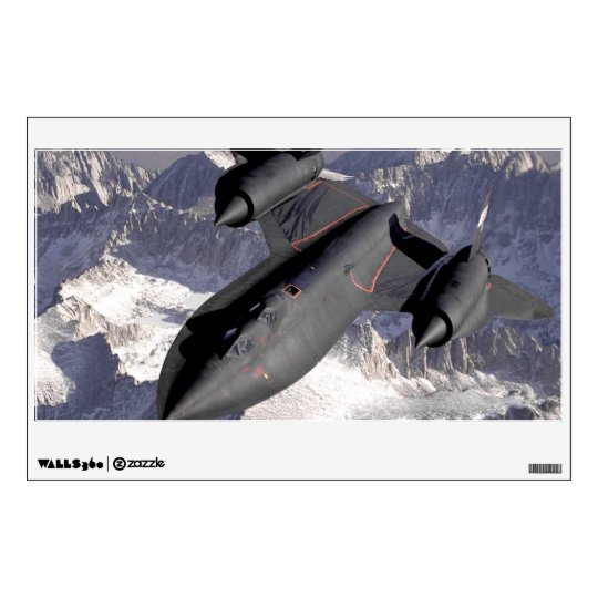 Supersonic Fighter Jet Wall Decal