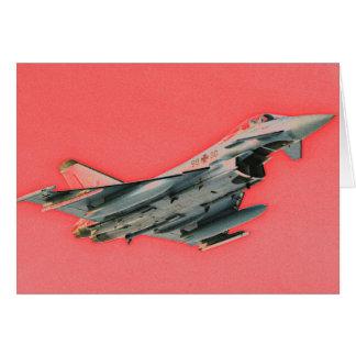 SUPERSONIC FLIGHT CARD