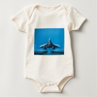 supersonic transport baby bodysuit