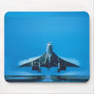 supersonic transport concord mouse pad