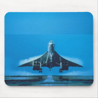 supersonic transport mouse pad
