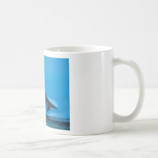 supersonic transport classic white coffee mug