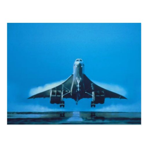 supersonic transport postcard