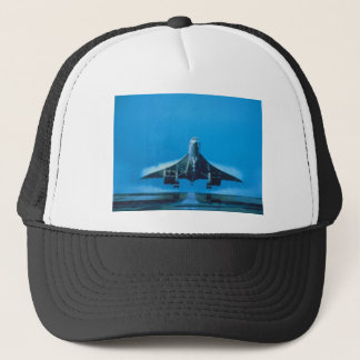 supersonic transport trucker hat