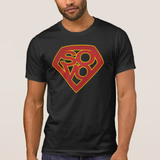 SuperSoVo - Men's Destroyed T T-Shirt