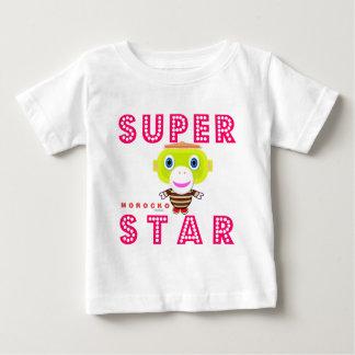 SuperStar 2-Cute Monkey-Morocko Baby T-Shirt