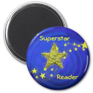 Superstar 2 Inch Round Magnet