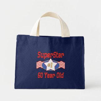 Superstar 60th Birthday Mini Tote Bag