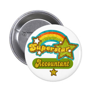 Superstar Accountant Pins