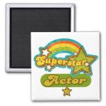 Superstar Actor Fridge Magnets