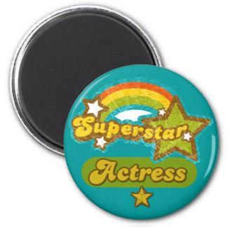 Superstar Actress 2 Inch Round Magnet