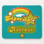 Superstar Actress Mouse Pad