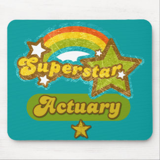 Superstar Actuary Mouse Pads