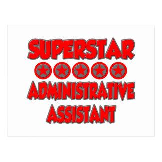 Superstar Administrative Assistant Postcard