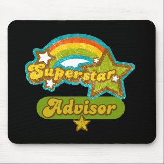 Superstar Advisor Mouse Pad