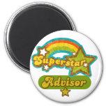 Superstar Advisor Refrigerator Magnets