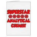 Superstar Analytical Chemist Cards