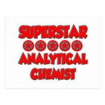 Superstar Analytical Chemist Postcard