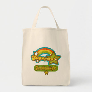 Superstar Anesthesiologist Grocery Tote Bag