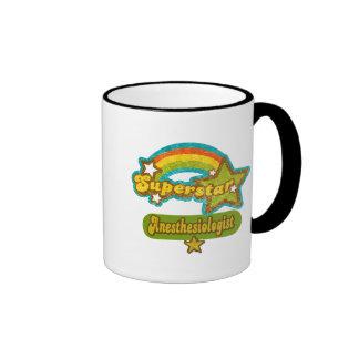 Superstar Anesthesiologist Ringer Coffee Mug