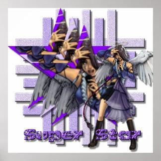 Superstar Angel - Canvas Print