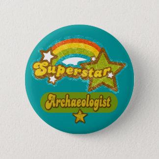 Superstar Archaeologist Button