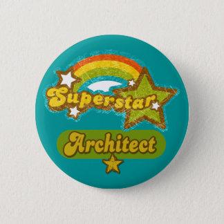 Superstar Architect Pinback Button