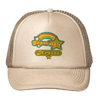 Superstar Artist Hat